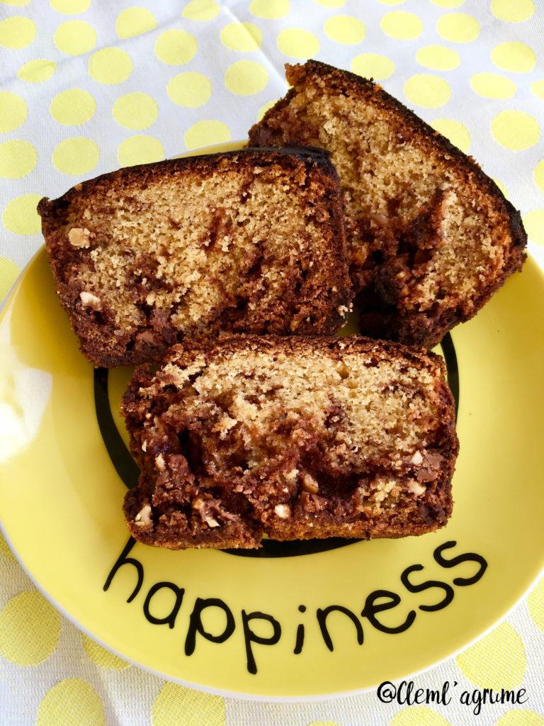 Recette de gâteau aux pépites de chocolat praliné