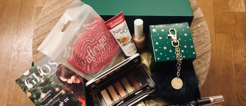 La Glossybox de décembre: le vrai cadeau de ce noël!