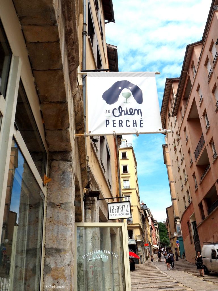 Brunch au chien perché Lyon