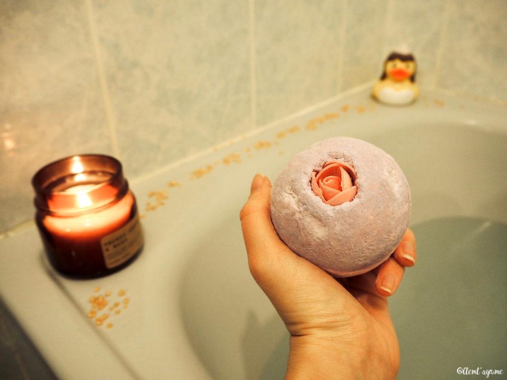 bombe de bain lush