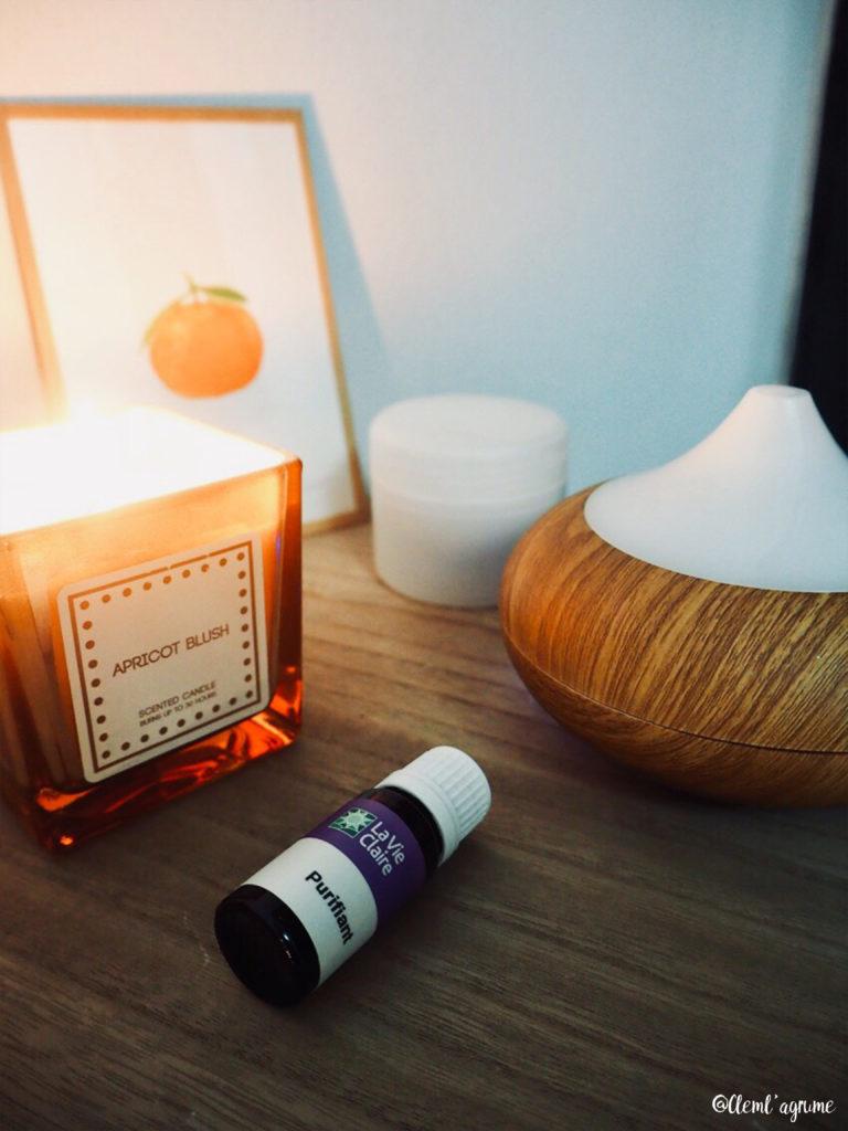 idées cocooning diffuseur d'huiles essentielles
