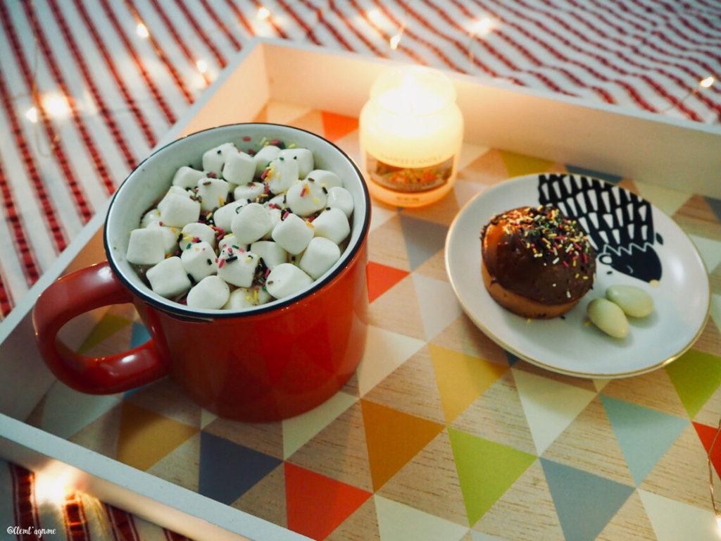 plateau gourmand chocolat chaud