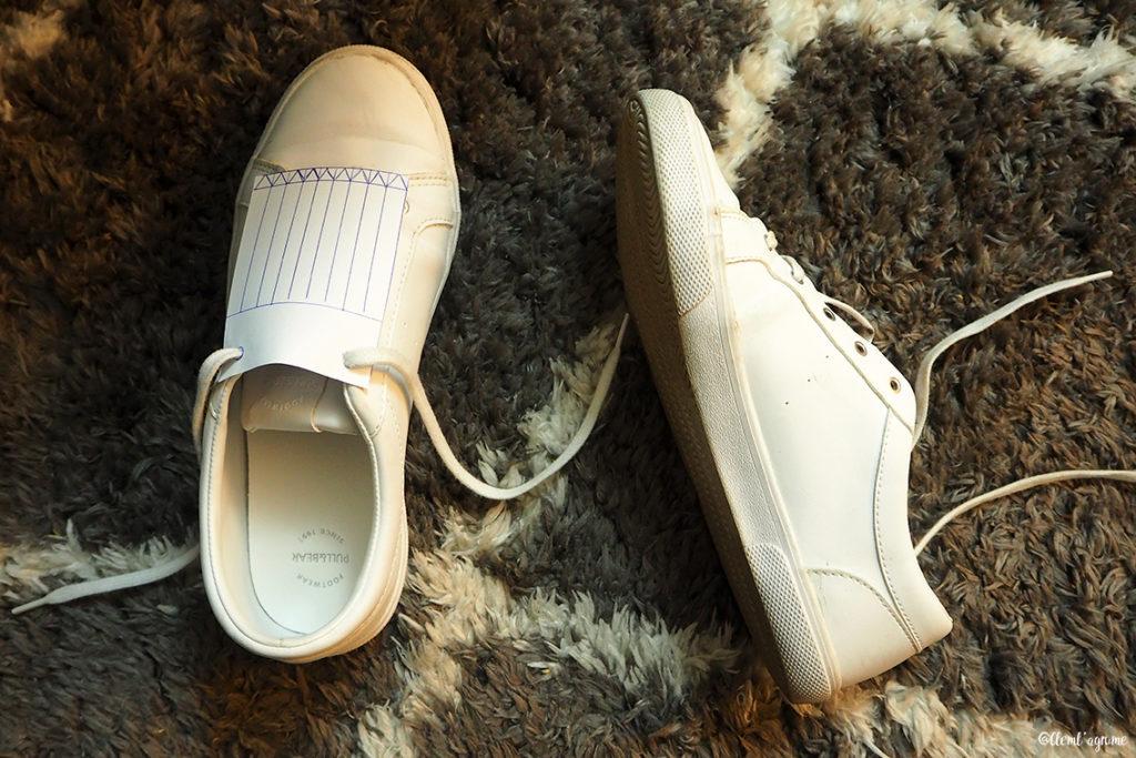 DIY franges pour chaussures