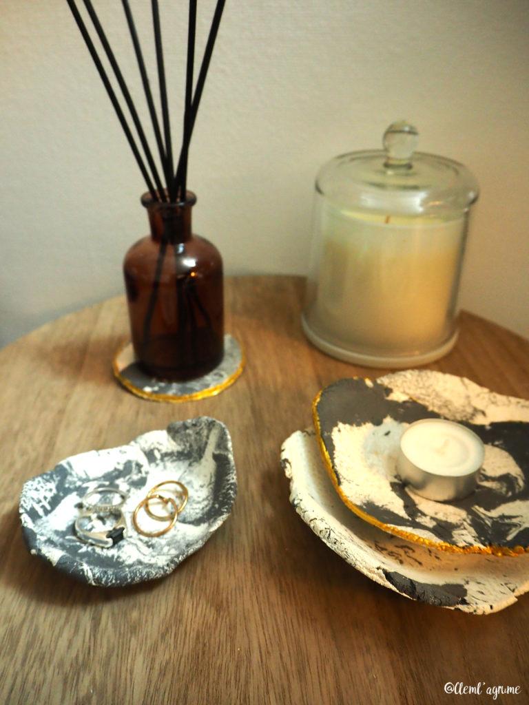 DIY coupelles en marbre