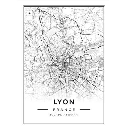 mapiful carte Lyon