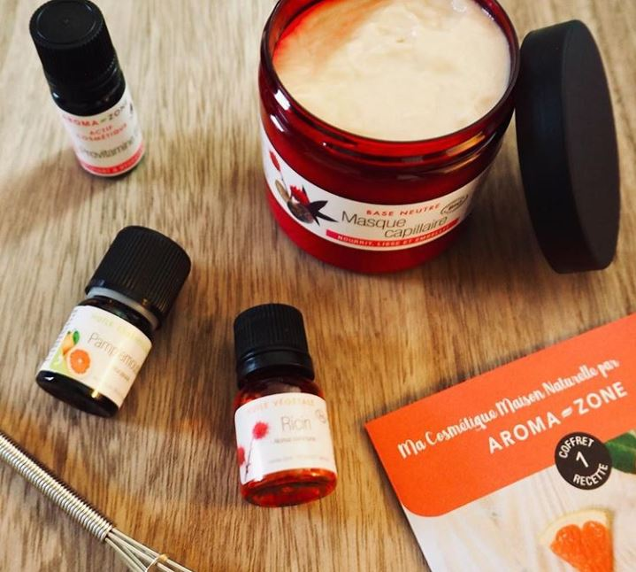 kit diy cosmetique aroma zone