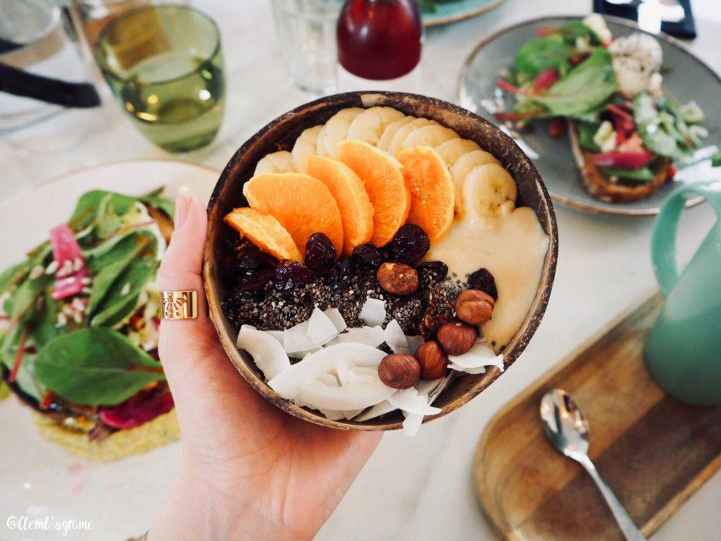 granola bowl Mowgli