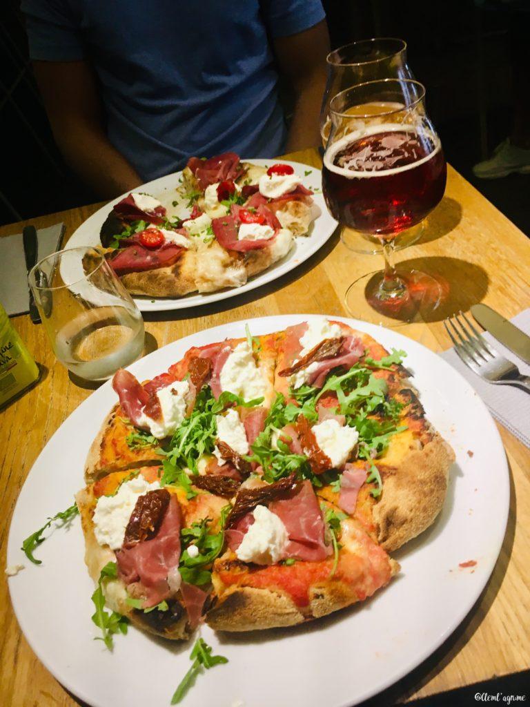 Bonne adresse pizzeria Savo Gêne Italie