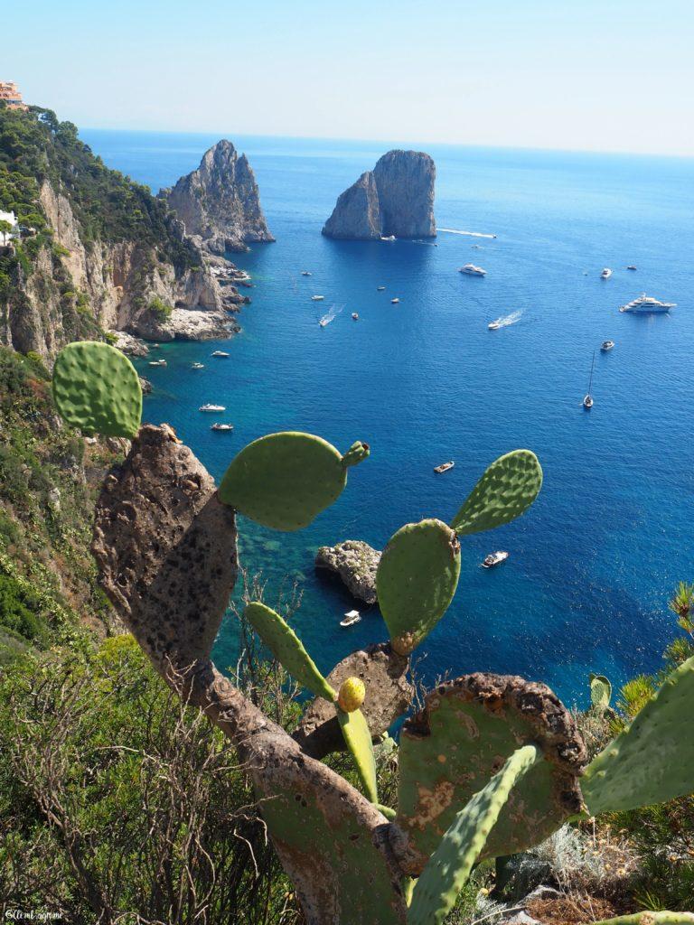 Rochers Faraglioni di Capri