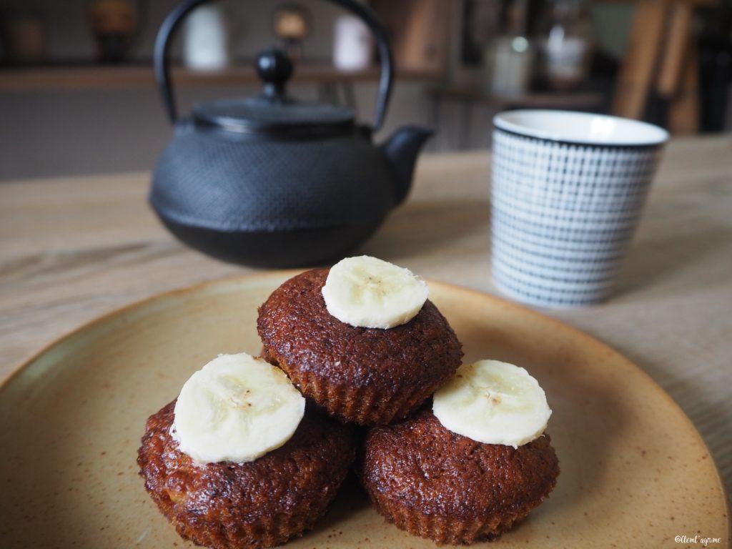 Recette de mini muffins à la banane
