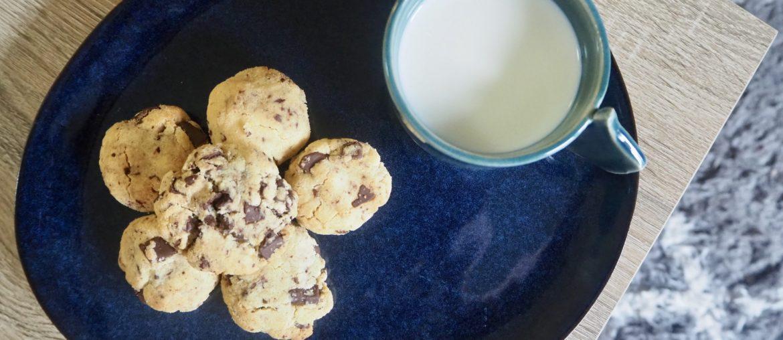 Recette de cookies sans gluten chocolat noix de coco