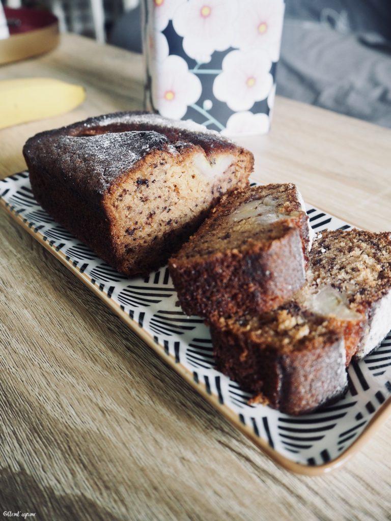recette de banana bread facile et rapide