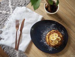 recette de pancakes à la banane facile