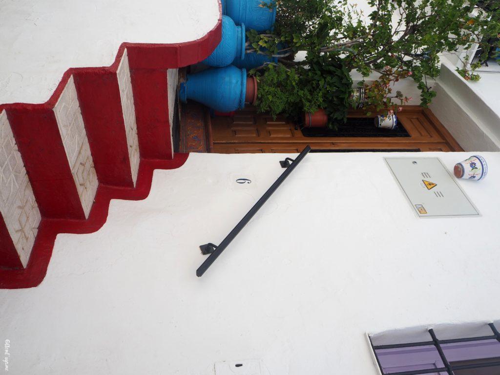 Frigiliana escalier