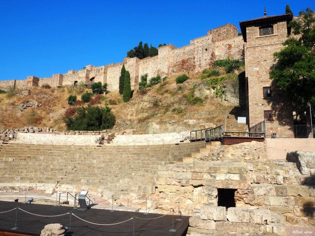 Malaga théatre romain