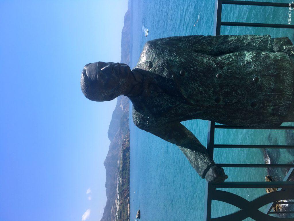 nerja statue