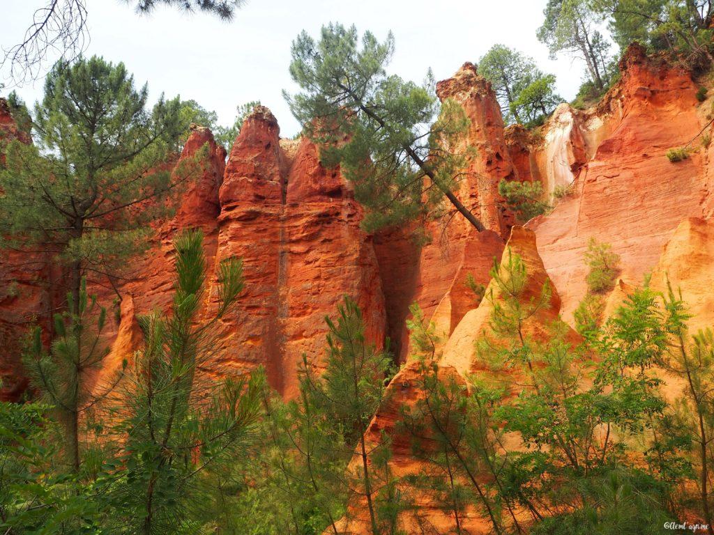 Sentier des Ocres Colorado Provençal