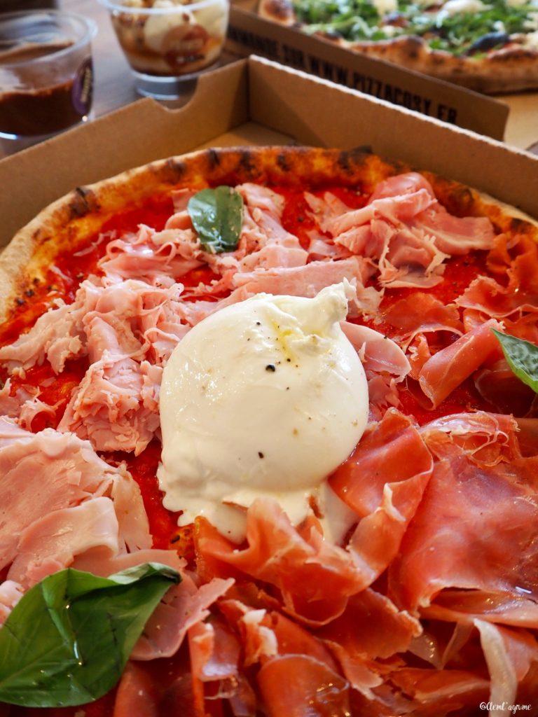 pizza burrata lyon
